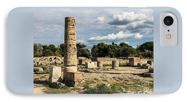 Ruins Of Paestum IPhone Case
