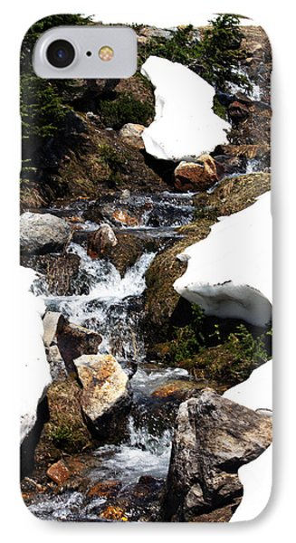 Running Down The Mountain IPhone Case