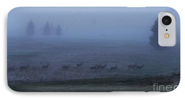 Running In The Mist IPhone Case