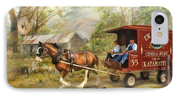 Rural Deliveries IPhone Case
