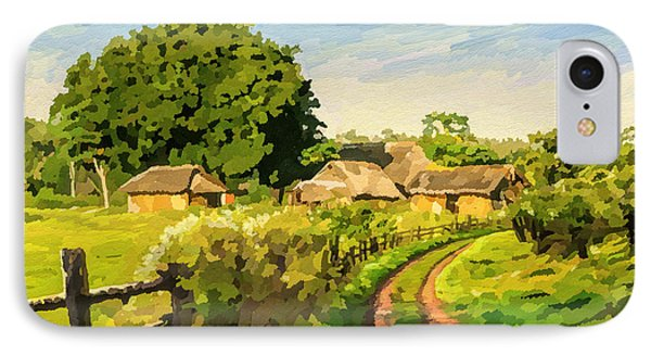 Rural Home IPhone Case