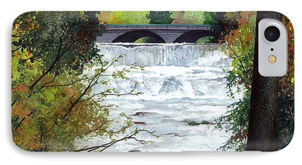 Rushing Water - Quiet Thoughts IPhone Case