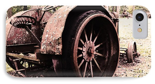 Rusted Big Wheels IPhone Case