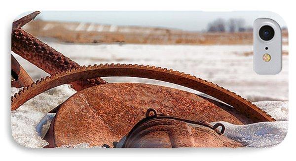 Rustic Gears IPhone Case