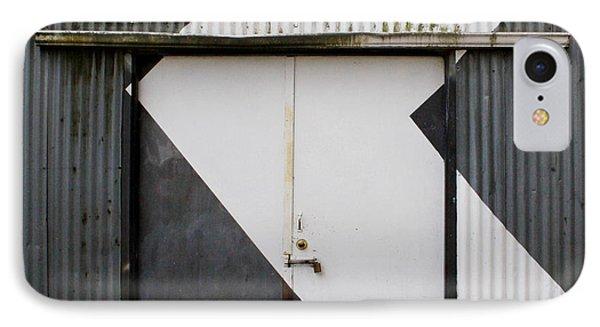 Rusty Door- Photographay IPhone Case