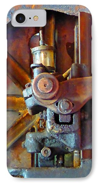 Rusty Machinery 2 IPhone Case