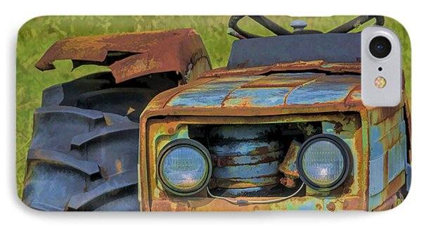 Rusty Tractor IPhone Case