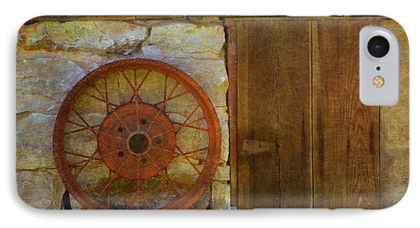 Rusty Wheel IPhone Case