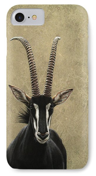 Animals iPhone 8 Case - Sable by James W Johnson
