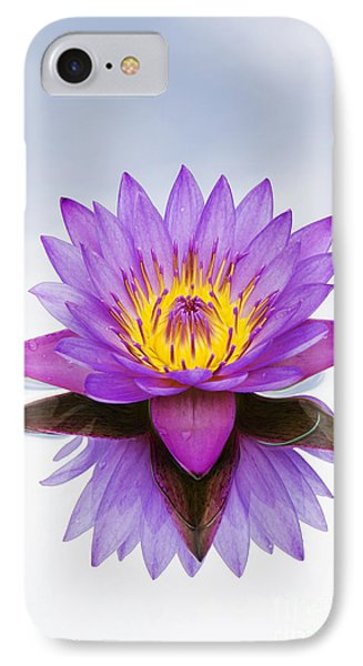 Sacred Indian Blue Lotus Flower IPhone Case