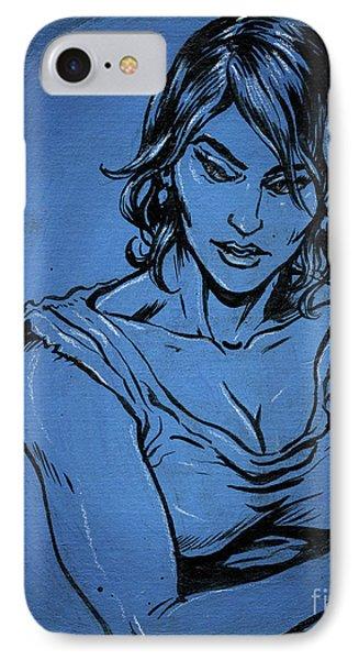 Sadie Blue IPhone Case