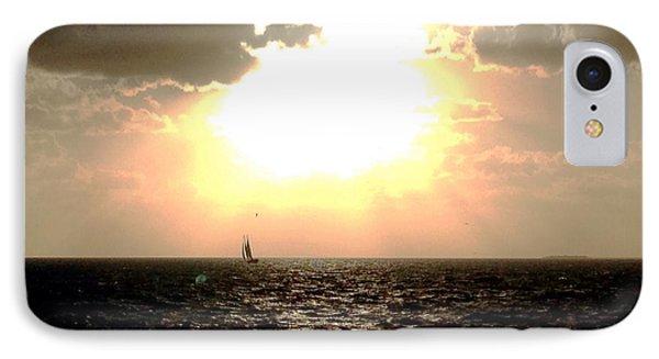 Sail Away Key West IPhone Case