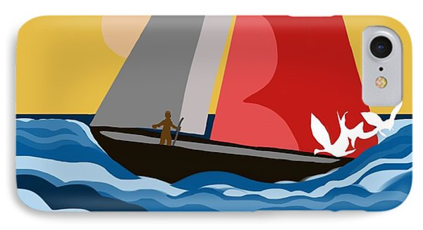 Sail Day IPhone Case