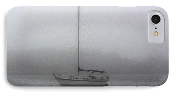 Sailboat In The Fog IPhone Case
