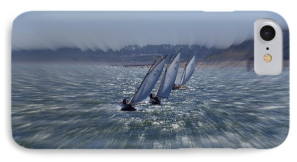 Sailing Boats Racing IPhone Case