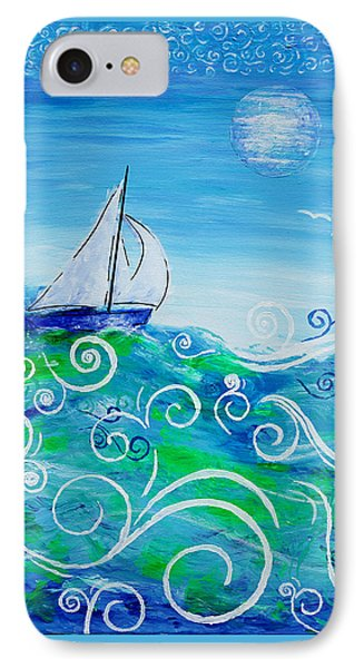 Sailing By Jan Marvin IPhone Case