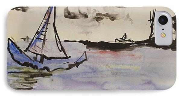Sailing In Door County 2 IPhone Case