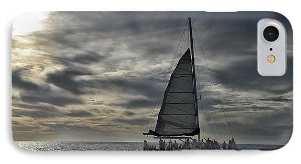 Sailing The Caribbean IPhone Case