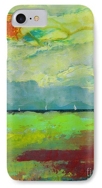 Sailing Thru Color IPhone Case