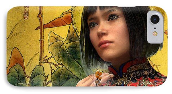 Saint Agatha Lin Zhao Of China IPhone Case