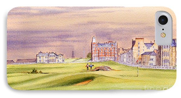 Saint Andrews Golf Course Scotland - 17th Green IPhone Case