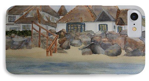 Saint Malo Beach House IPhone Case