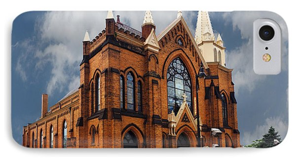 Saint Mary Of The Mount Church IPhone Case