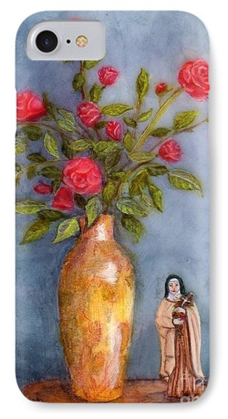 Saint Therese Of The Little Flower IPhone Case