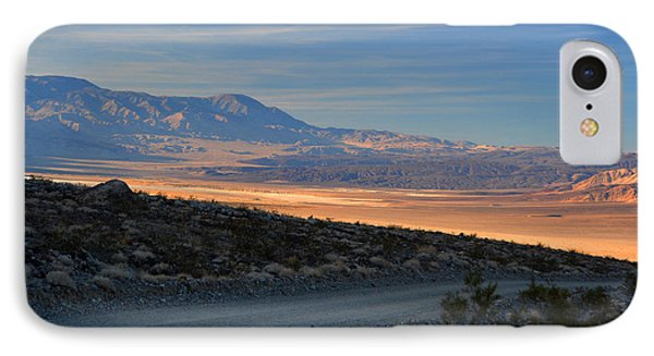 Saline Valley Byway Sunset November 17 2014 IPhone Case