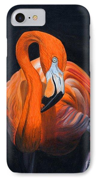 Sally The Flamingo IPhone Case