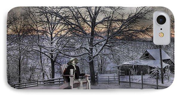 Sam Visits Winter Wonderland IPhone Case