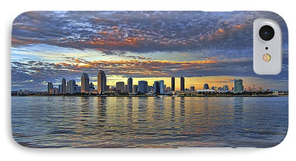 San Diego Colorful Clouds IPhone Case