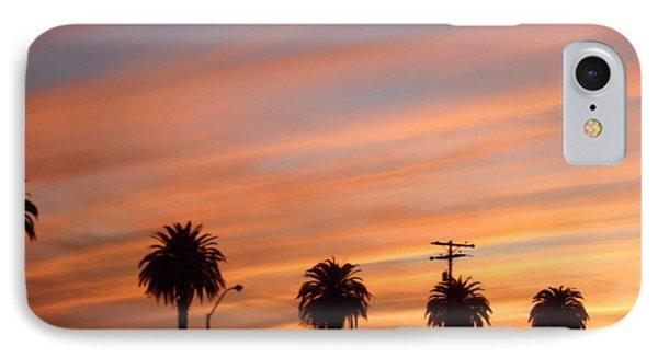San Diego Sunset 2 IPhone Case