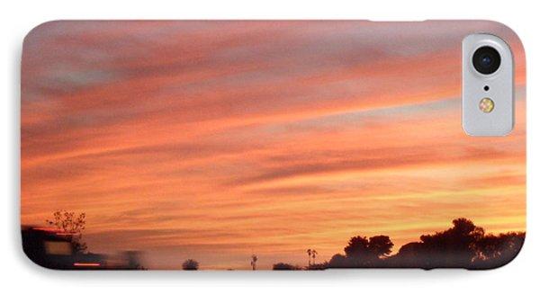 San Diego Sunset 4 IPhone Case