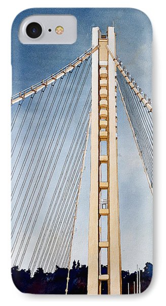 San Francisco Oakland Bay Bridge Eastern Span IPhone Case