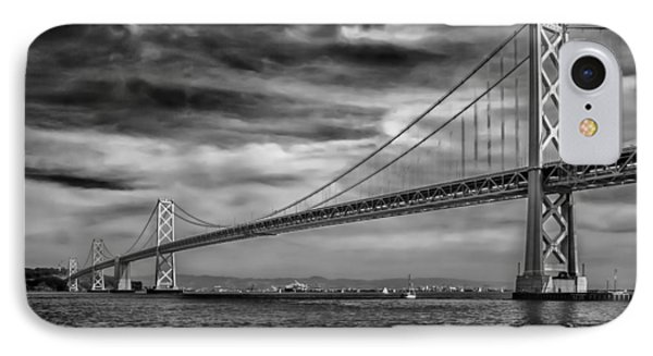 San Francisco - Oakland Bay Bridge IPhone Case