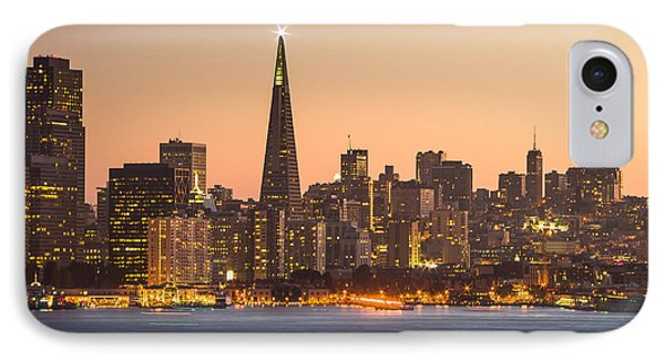 San Francisco Skyline Late Evening IPhone Case