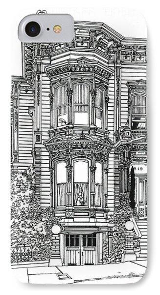 San Francisco Victorian   IPhone Case
