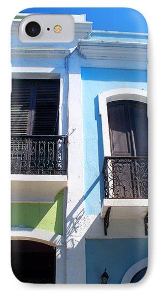 San Juan Balconies IPhone Case