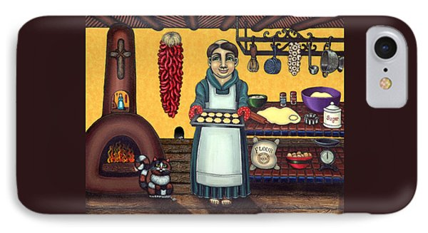 San Pascual Making Biscochitos IPhone Case