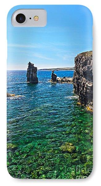 San Pietro Island - Le Colonne IPhone Case