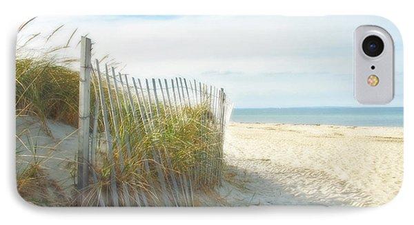 Sand Beach Ocean And Dunes IPhone Case