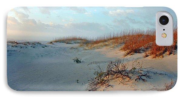 Sand Dune On Tybee Island IPhone Case