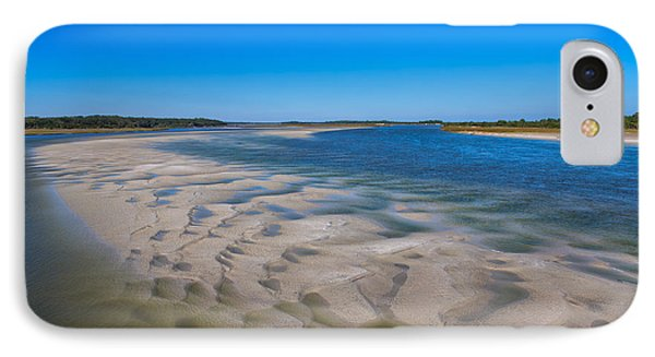 Sandbars On The Fort George River IPhone Case