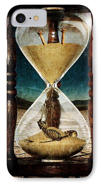 Sands Of Time ... Memento Mori  IPhone Case