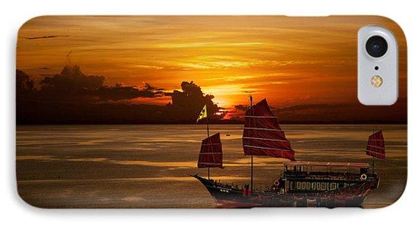 Sanpan Sunset IPhone Case