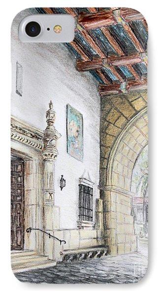 Santa Barbara Courthouse Arch IPhone Case