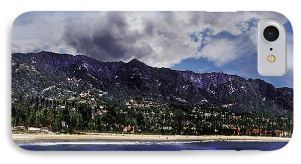 Santa Barbara Panorama IPhone Case