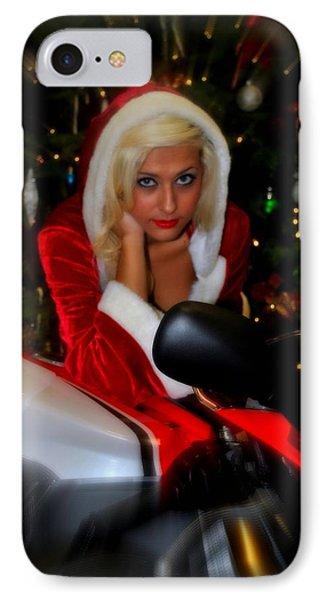 Santa Biker IPhone Case