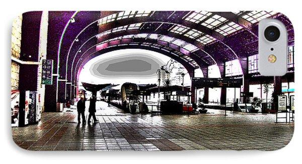 Santiago De Compostela Station IPhone Case